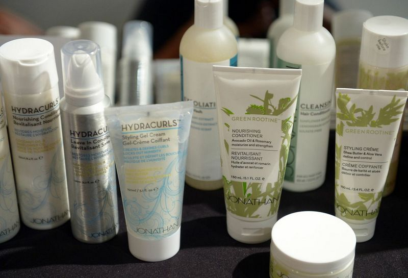 hydracurls, green soothing, jonathan products,  curly vs straight hair