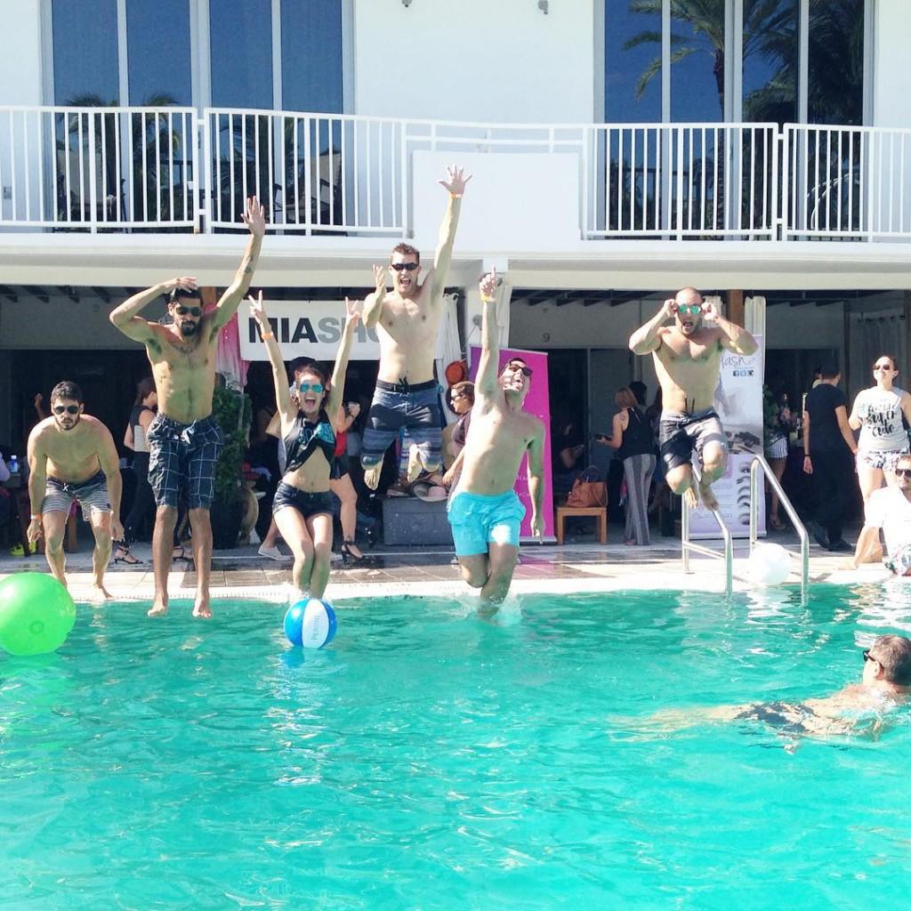 Pero like this is awesome flairmiamistyle launch! EscapeMiami3 flairmiami peroni
