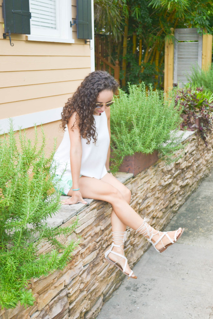 Zara_Tank_Old Navy_Shorts_ootd) (10)