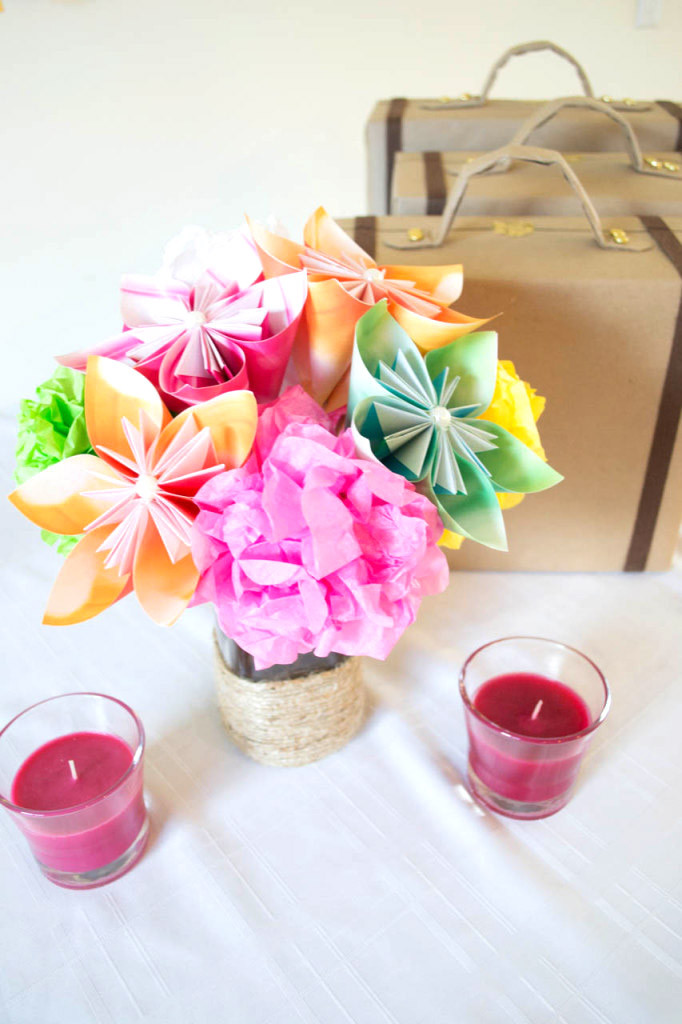 Crafting Paper Flowers with Glade (12)